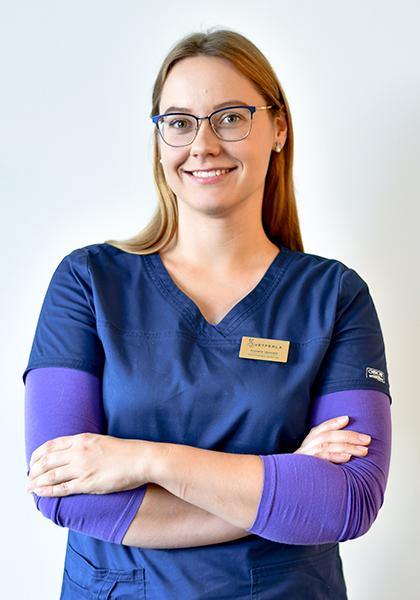 veterinarijos gydytoja Romena Ubonytė